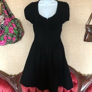 Betsy Johnson collection black dress